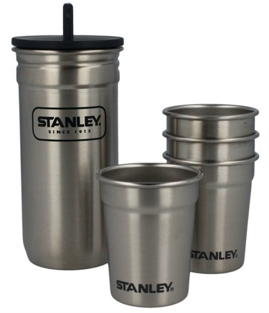 Stanley - Set of 4 glasses Adventure stainless - 10-01705-017