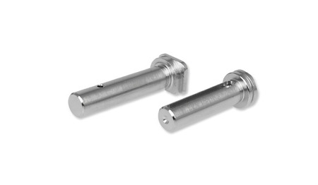 Strike Industries - AR Extended Pivot / Takedown Pins - Chrome - SI-AR-EPTP-CC