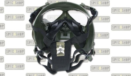 TMC - Airsoft Mask - Toxic Style - With Fan - OD Green