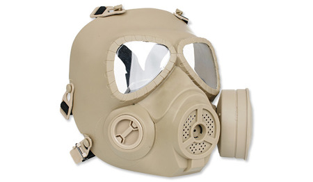 TMC - Airsoft Mask - Toxic Style - With Fan - TAN