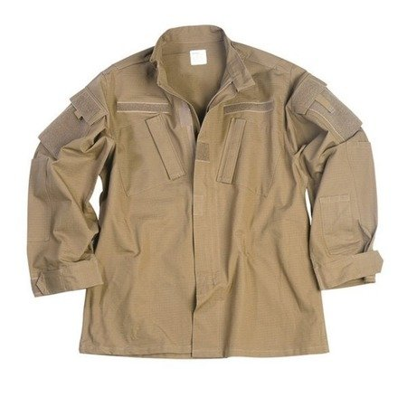 Teesar Inc. - Combat Coat ACU - RipStop - Coyote Brown - 11927005