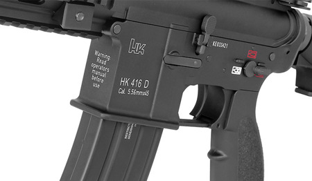 Umarex / VFC - Heckler & Koch HK416 V2 Assault Rifle Replica - 2.6372x