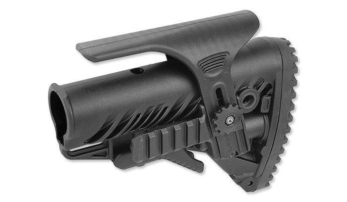 Fab Defense Glr 16 Pcp M16m4ar15 Buttstock Black Shooting