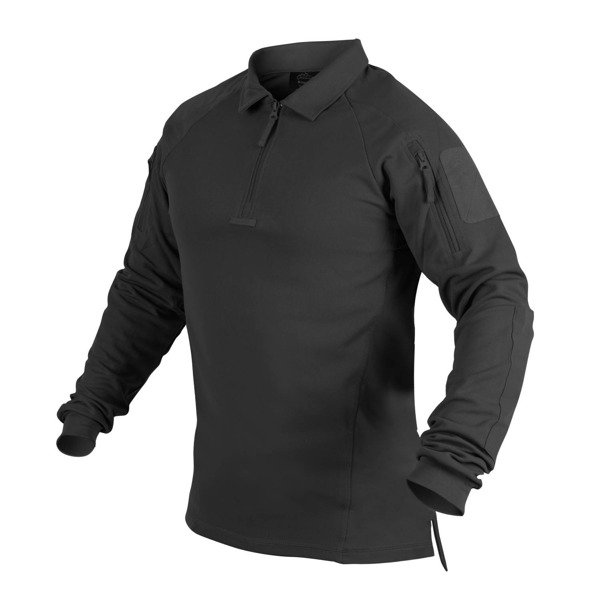 cheaper 5186e f2328 Helikon - Range Polo Shirt® - TopCool / VersaStretch® - Schwarz -  PD-RNG-TC-01