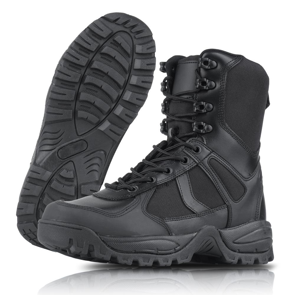 Mil Tec Patrol One Zip Tactical Boots Schwarz 12822302