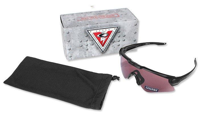 ec031eecdad Oakley - SI Ballistic M Frame Alpha Matt Schwarz Brille - Prizm TR22  OO9296-03