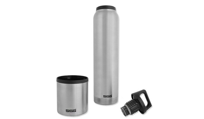 Sigg Hotcold Brushed Vacuum Flask 10l Silver 851620