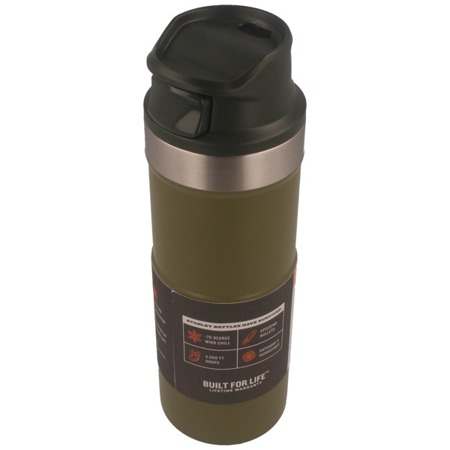 Stanley - Thermal Mug Classic Vacuum Mug 2.0 olive drab 473ml / 16oz - 10-06439-009