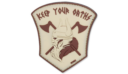 101 Inc. - 3D Patch - Keep Your Oaths - Sand