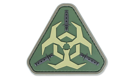 4TAC - PVC Patch - Outbreak Response - Olive