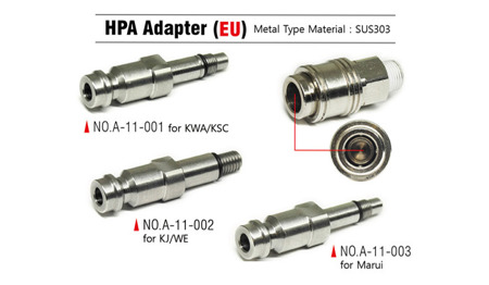 Action Army - HPA Adapter - KJ / WE / Socom Gear - A11-002