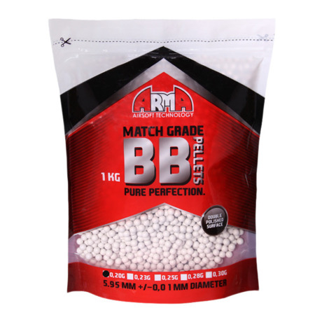 Arma Tech - Match Grade Airsoft BB Pellets - 0.20g - 5000 rds