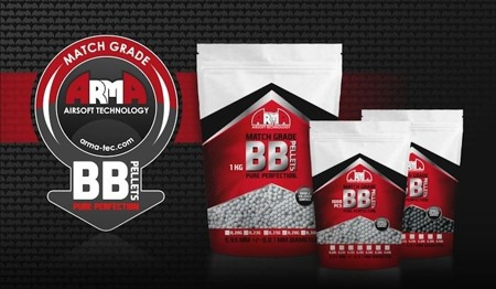 Arma Tech - Match Grade Airsoft BB Pellets - 0.23g - 1000 rds