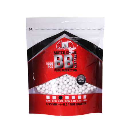 Arma Tech - Match Grade Airsoft BB Pellets - 0.25g - 1000 rds
