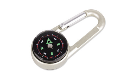 BCB - Carabiner with compass and thermometer 3in1 - CK310