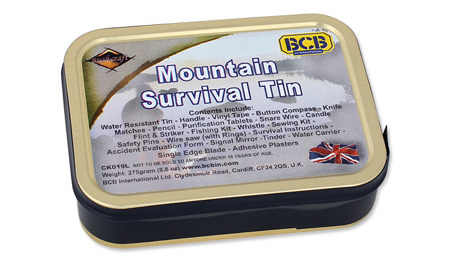 BCB - Mountain Survival Tin - CK019L