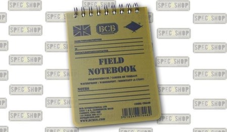 BCB - Waterproof Notebook - CD446