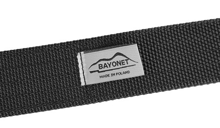Bayonet - THIRDLINE Belt - AustriAlpin COBRA Buckle - Black