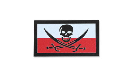 Combat-ID - Patch Poland Calico Jack - Small - Color - Gen II IR