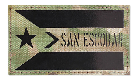Combat-ID - Patch San Escobar - MultiCam - Gen II