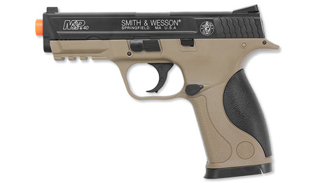 Cybergun - Smith & Wesson M&P40 Pistol Replica - Tan - Spring - 320135
