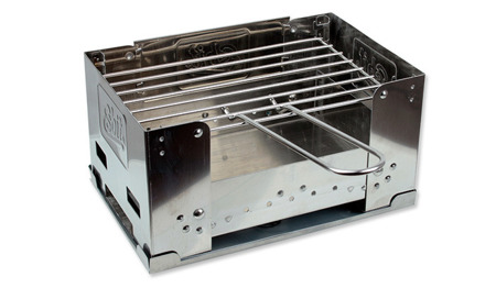Esbit - Fold-away charcoal grill - Small - BBQ100S