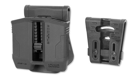 FAB Defense - PS-9 Double Mag Pouch for Steel 9mm/.40 Magazines
