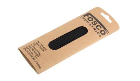 FOSCO - Shoe laces - 180 cm - Black - 239181