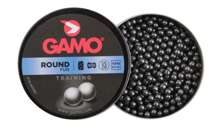 Gamo - Pellets Round BB - 500 rounds - 4,5 mm