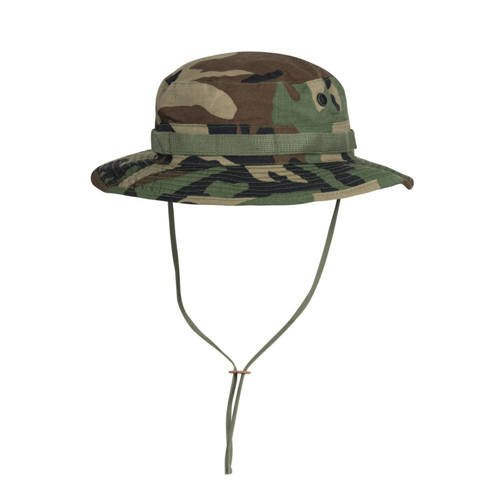Helikon - Boonie Hat with cover - Woodland - KA-BON-CR-03