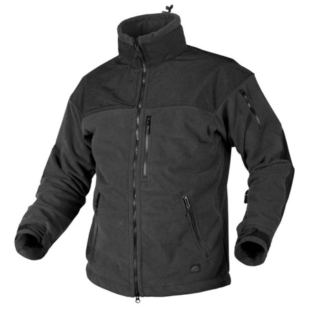 Helikon - Classic Army Windblocker Fleece Jacket - Black - BL-CAF-FM-01