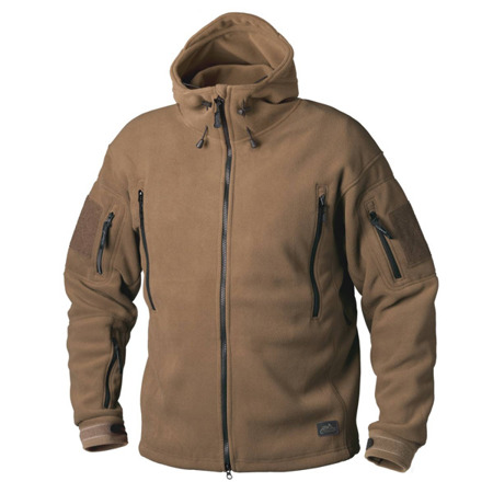 Helikon - Patriot Heavy Fleece Jacket - Foliage Green - BL-PAT-HF-21