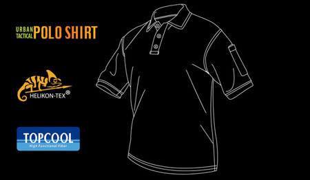 Helikon - Polo Shirt - Urban Tactical - TopCool - Navy Blue - PD-UTL-TC-37