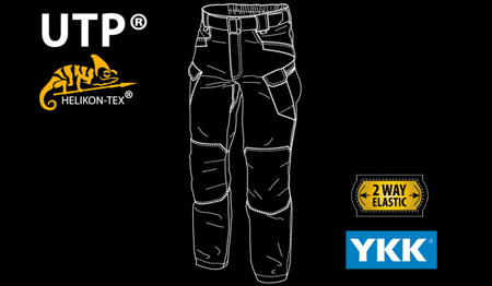 Helikon - UTP® (Urban Tactical Pants®) Denim - Denim Blue - SP-UTL-DM-31