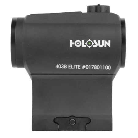 Holosun - HE403B-GR Elite Green Dot Sight - Low mount & 1/3 Co-witness Mount