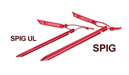 Lesovik - Tarp peg SPIG UL - Red - 1 pc