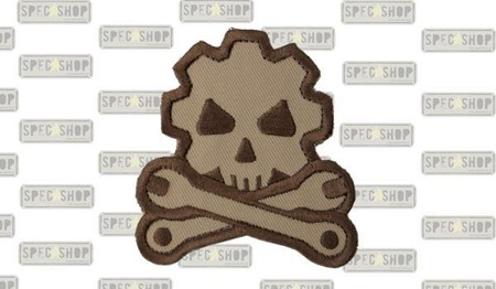 MIL-SPEC MONKEY - Morale Patch - Death Mechanic - Desert