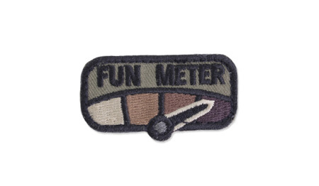 MIL-SPEC MONKEY - Morale Patch - Fun Meter - Forest