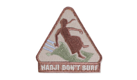 MIL-SPEC MONKEY - Morale Patch - Hadji Don't Surf - Multicam
