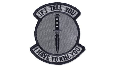 MIL-SPEC MONKEY - Morale Patch - If I Tell You - UCP