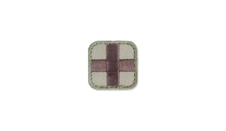 "MIL-SPEC MONKEY - Morale Patch - Medic Square 1"" - Multicam"