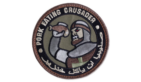 MIL-SPEC MONKEY - Morale Patch - Pork Eating Crusader - Forest