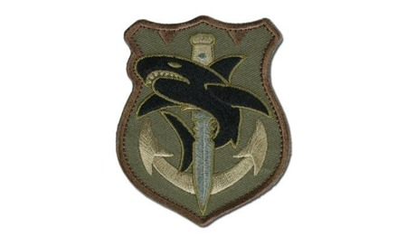 MIL-SPEC MONKEY - Morale Patch - Tac Shark - Forest