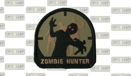 MIL-SPEC MONKEY - Morale Patch - Zombie Hunter - Forest