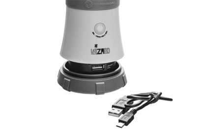 Mactronic - Rechargeable Camping Lantern Wizard with Power Bank - ACL0011