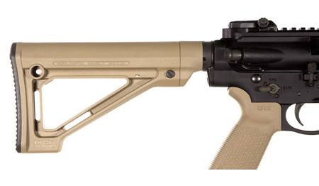 Magpul - MOE® Fixed Carbine Stock - Mil-Spec - Schwarz - MAG480