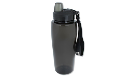 Mil-Tec - Drinking Bottle - 600 ml - Transparent Smoke - 14519702