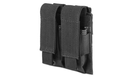 Mil-Tec - Modular Double Pistol Pouch for 2 Magazines - Black - 13495502