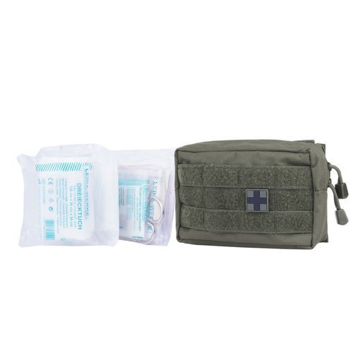 Mil-Tec - Small MOLLE 25-piece First Aid Set - OD Green - 16025301
