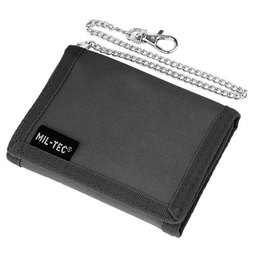 Mil-Tec - Wallet with chain - Black - 15811002